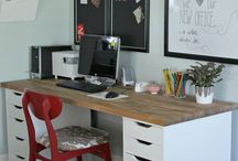 DIY Ikea Home Office
