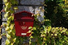 Mail boxes / Wax seal / Bottle post office ...& more :)