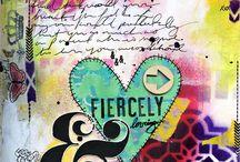 Art Journaling Love: Stencils / by Crafty Lou