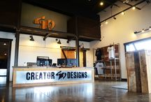 Our Shop / Creator Designs Inc. is a locally owned Screen Printing & Embroidery company in the heart of Bolivar and Springfield Missouri. For over 25 years, Creator Designs has been creating custom T-Shirts and shipping them all over the world. We LOVE T-Shirts and want to be your T-shirt supplier for life!