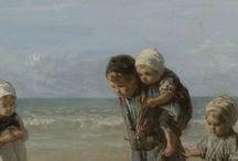 Kunst/zee/strand