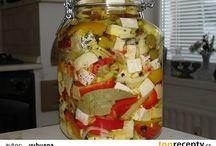 Nakládané sýry,zelenina,ovoce,houby a jiné recepty