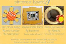 Created by You / all products featured here are made by our amazing customers! to be invited to pin to this board, e-mail ali@thewoodconnection.com!