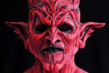 Дьявол, демон, черт (Devil, demon, hell) / costumes, images, makeup, manicure, ideas