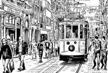urbancitydrawn