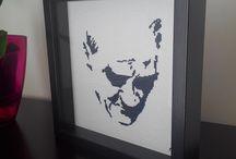 cross stitch Ataturk