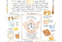 Eerything stops for tea!