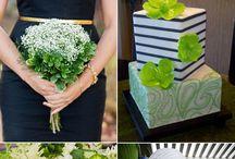 зеленый букет