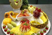 Art of Fruit,Caving & Plating INDONESIA
