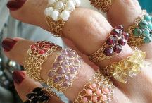Crochet/knit wire jewelry / Patterns, tutorials, photos, posts, articles