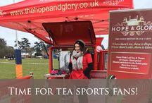 Hope & Glory Tea Experiences & Events