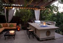 Outside Patios & Living spaces  / by Karyn Plaud-Rosy