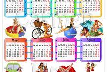 Calendario 2014 / Calendario 2014 diseñado por Carmen Jane Style para Pin Up Obsesion