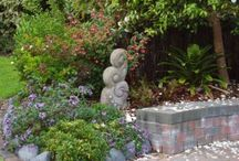 A Creative Garden / Even a productive garden needs creative, quirky features