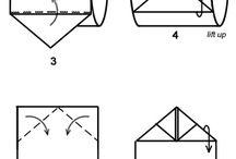 Papier toilette origami