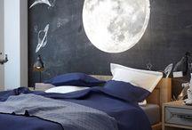sypialnia dla małego kosmonauty