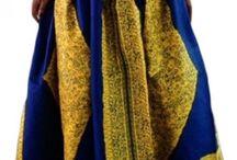 A line maxi skirts