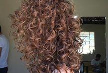 Luzes my hair