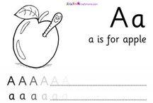 Kids phonics/drawings