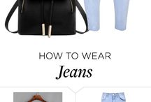 Jeans polyvore