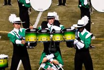 Marching Music's Major League / Anything DCI or WGI. (Mostly battery oriented)