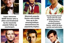Classic Who / A board for LETT! All about Class Doctor Who, with Doctors 1-8.