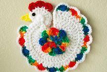 Crochet, ñanduti, horquillas, frivolite.... / Tejer.... / by Lourdes Talavera