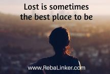 Blog posts / Photo quotes from my blog, Walks With Spirit - http://rebalinker.com/blog/
