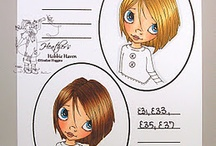 Copic Hair Combos / Hair only