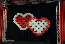 Valentine Ideas / Balloon Decorations