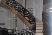 Pałace / Piękne kute schody