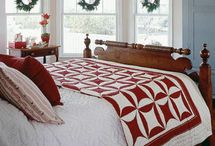 Christmas quilts &cushions