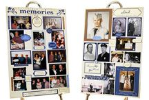 Memory Table / J.B. Newall Memorials offers ideas for creating a thoughtful memorial table to honour your loved one. Visit: jbnewall.com