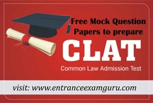 Entrance Exam Guru / Entrance exam guru helps students in preparing for all entrance exam by providing online teaching material. We have made practice test papers for Clat Exam 2013 and planning to launch IIT, CPT, AIEEE exams in coming months.  http://entranceexamguru.com/clat_info.php