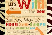 Zoo Safari Party