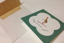Christmas / Some new cards made by me :)