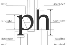 Typography / by PointParkSchoolofCommunication