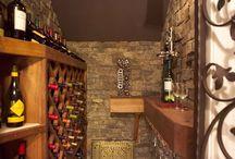 Under the stairs wine cellar