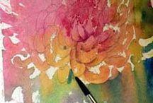 Watercolour Art.
