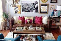 Mixed match furniture decor