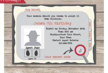 Secret Agent Party Ideas / Fun Ideas for a Secret Agent Party!