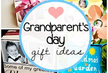 Holiday:Grandparents Day / Ideas for Gifts for Grandparents / by Gwen Braum