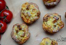 Zwiebel Kuchen Muffins