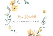 Mrs. Kendall: The Blog