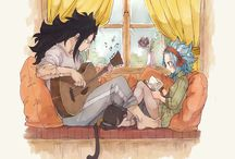 Gajeel and Levy  ♥