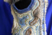 Вязанный мех