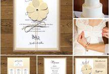 Zaproszenia ślubne rustykalne / Zaproszenia ślubne i dodatki w rustykalnym stylu, eko, ekologiczne