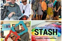 Listen :: The Stash Podcast / Creative Conversations with Makers & Doers. This is a podcast for creatives, fiber people, sewers, designers, and more to talk about creativity, inspiration, and running small creative businesses.