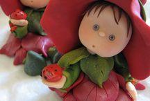 muñecos poly clay