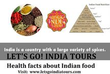 Health facts about Indian food / Read or blog on Health facts about Indian food : http://letsgoindiatours.blogspot.in/2016/02/health-facts-about-indian-food.html